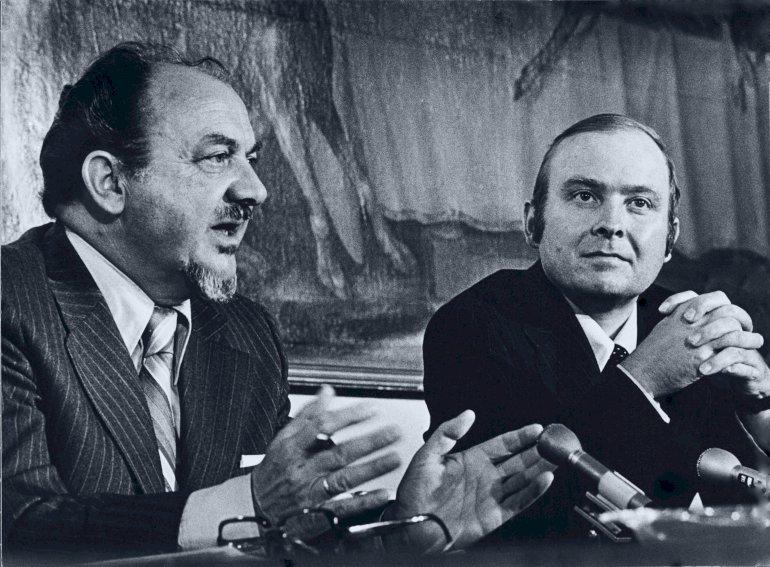 """Der skal være en """"særskilt god kemi mellem partilederne - og det er der ikke i dette tilfælde, mener Ritt Bjerregaard, der var undervisningsminister, da Anker Jørgensen og Henning Christophersen dannede koalition mellem S og V i sommeren 1978. Foto: Polfoto"""