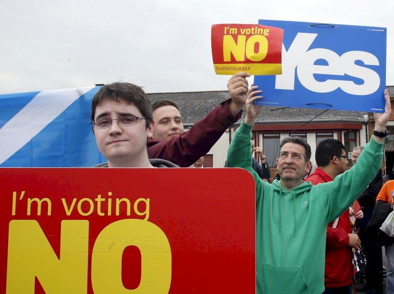 Hos Unite, Skotlands svar på LO, vil man hverken bede medlemmerne om at stemme ja eller nej: Der er for mange modstridende interesser på spil. Foto: Polfoto
