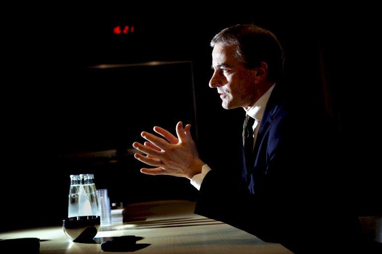 Jonas Gahr Støre ser forholdet mellem det danske socialdemokrati og fagbevægelsen som et afskrækkende eksempel.Foto: Polfoto