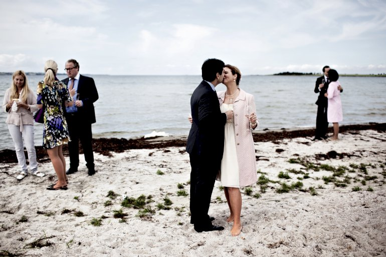Giftelystne strømmer til Fanø, og man har derfor ansat en medarbejder til at håndtere den store bryllupsefterspørgsel. Foto: Polfoto