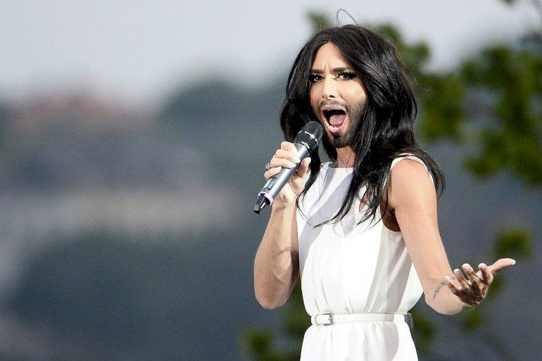 Conchita Wurst vandt – mens Wondeful Copenhagen tabte milioner. Foto: Polfoto
