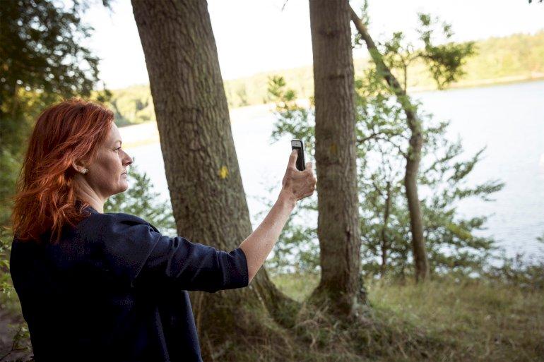 Lejre med SF'eren Mette Touborg i spidsen profilerer sig som 'landets økologiske kommune'. Der er dog ingen statistisk signifikant sammenhæng mellem borgmesterfarve og kommunernes engagement i klimaet viser nyt studie.  Foto: Polfoto