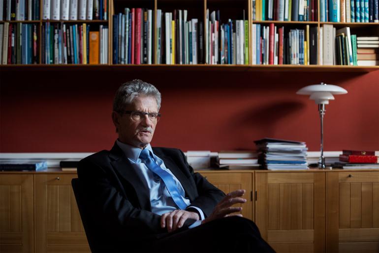 Mogens Lykketoft har siddet i Folketinget siden 1981. Han har både været udenrigs- og finansminister, ligesom han var formand for Socialdemokraterne 2002-2005.Foto: Charlotte de la Fuente / Polfoto