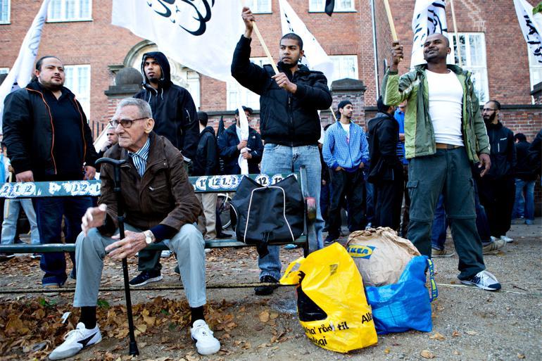 Internationale medier står i kø for at høre, hvordan man i Aarhus har succes med at afradikalisere unge Syrienskrigere. Foto: Stine Bidstrup / Polfoto