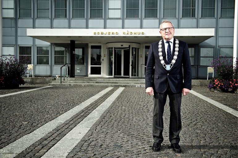 Esbjerg-borgmester Johnny Søtrup (V) har været en af de mest markante modstandere af hovedstadsudligningen. Foto: Christer Holte / Polfoto