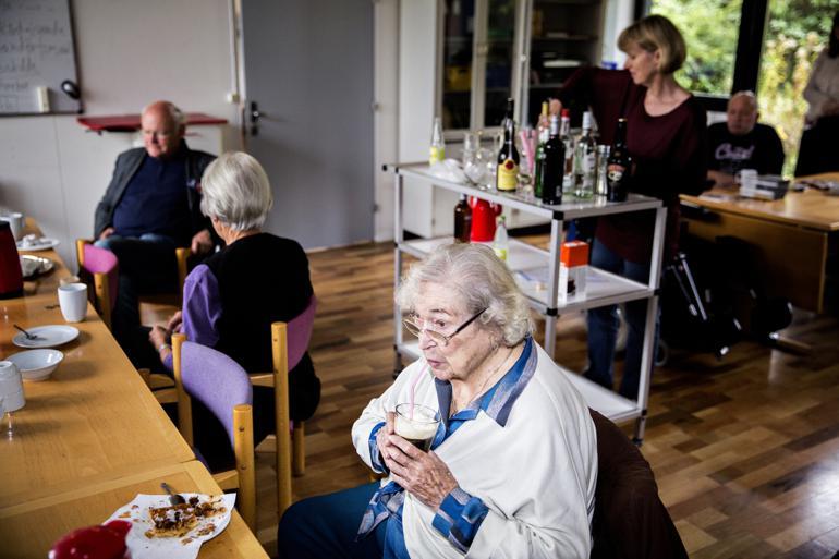 I gennemsnit brugte kommunerne 41.623 kroner på borgere over 65 år i 2014. Foto: Janus Engel / Polfoto