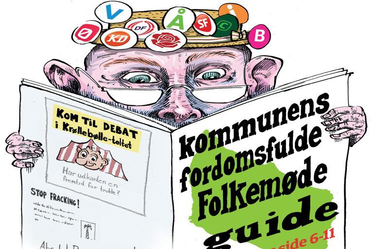 Kommunens fordomsfulde Folkemøde-guide
