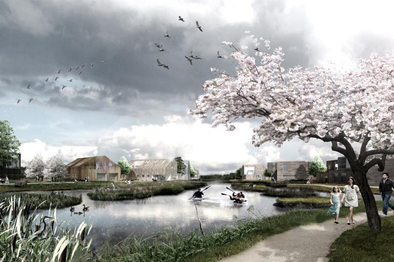 Ny by er bæredygtig fra bunden