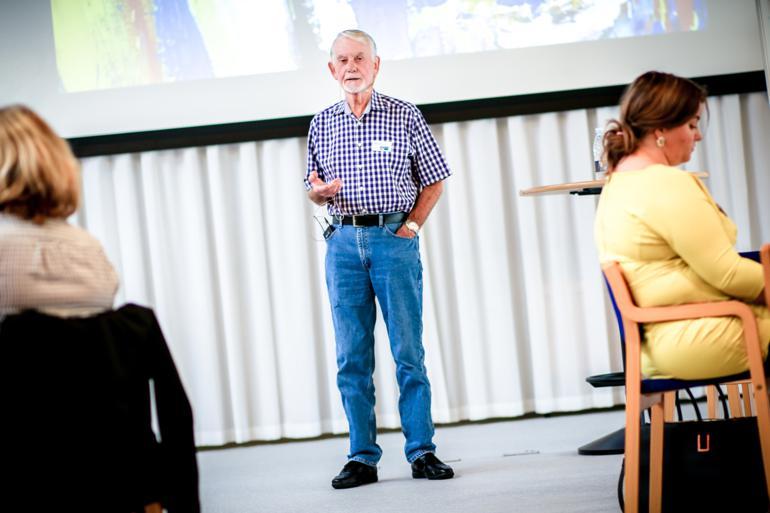 Ledere skal være mere opmærksomme på, hvad de selv gør, og ikke udelukkende fokusere på, hvad andre bør gøre, mener den britiske professor i management Ralph Stacey. Foto: COK