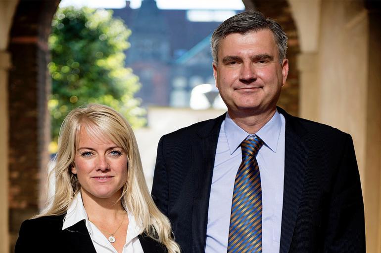 Allerede 24. september meddelte de to konservative afhoppere, at de ville stifte et nyt parti, der skulle hedde Vi Konservative. I forbindelse med lanceringen af principprogrammet blev det så til Nye Borgerlige. Foto: Nils Meilvang / Scanpix