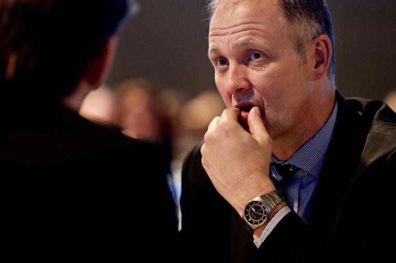 KL-formand Martin Damm (V) vil gå offensivt til værks overfor Finansministeriet til sommerens økonomiforhandlinger. Spørgsmålet er, om han kan leve op til kommunernes forventninger ovenpå omprioriteringsbidraget. Foto: Rene Schötze / Polfoto