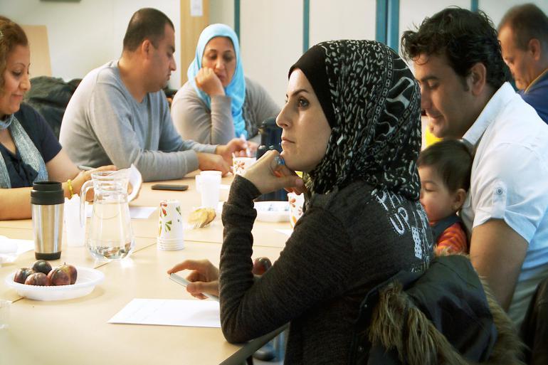 MindSpring har blandt andet afholdt et forældreforløb, hvor deltagerne efterfølgende fortalte, at de havde ændret syn på, hvordan de ville opdrage deres børn.  Foto: Historiefabrikken