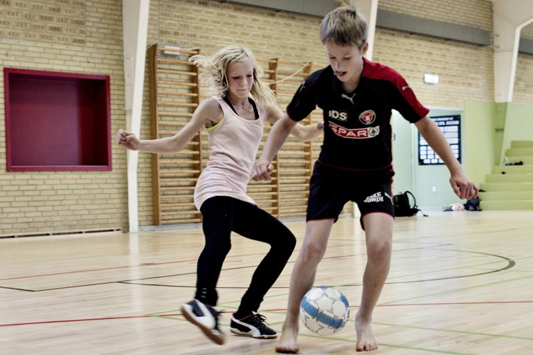 DGI og Realdania støtter fem klyngeprojekter, hvor blandt andet tilbud som idrætsaktiviter skal sørge for at styrke landsbylivet.  Foto: Gregers Tycho/Polfoto