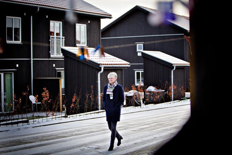 Næsten fire år senere fortæller Bettina Post om det bagholdsangreb fra Majbrit Berlau, der kostede hende jobbet som formand i Dansk Socialrådgiverforening.  Foto: Bjørn Marcus Trappaud / Polfoto