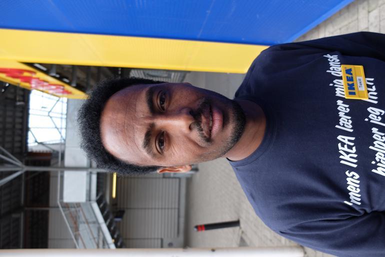 Teklit Kidane flygtede fra militærtjeneste og manglende demokrati i Eritrea i 2007 og blev anholdt flere gange efterfølgende - blandt andet i Sudan - inden han kom til Danmark i juli 2014. Foto: Søren Engelbrecht