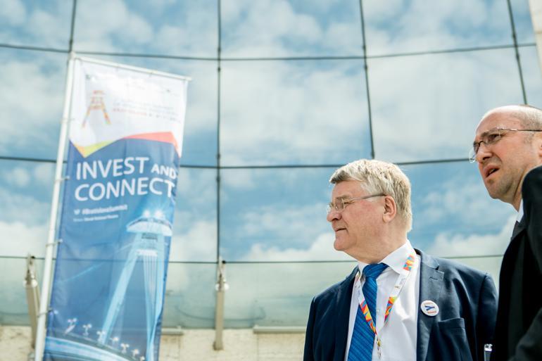 Formanden for Regionsudvalget, finske Markku Markkula, havde taget den dystre mine med til topmødet. Foto: Committee of the Regions
