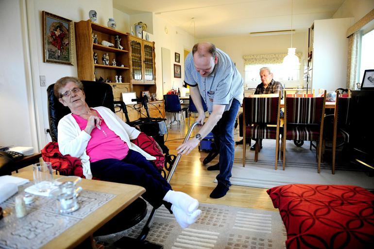 Mere end 20 plejefirmaer er de seneste tre år gået konkurs, og det har tvunget flere kommuner til selv at varetage ældreservicen. Spørgsmålet er, om også andre områder er ramt af hjemtagning. Det vil bedre data kunne svare på, mener flere forskere. Foto: Carsten Andreasen / Polfoto