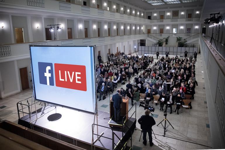 Sådan får du succes med Facebook live fra borgermødet