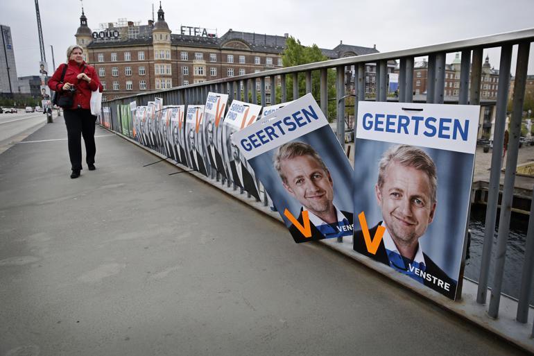 Venstres Martin Geertsen står igen øverst på listen til kommunalvalget i København. Foto: Polfoto