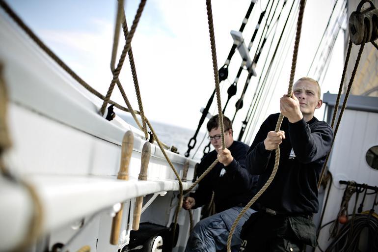 Unge fra skibsprojekter klarer sig godt