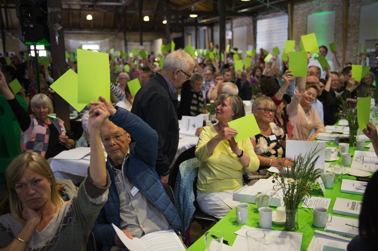 Medlem af Alternativets bestyrelse for Storkreds Fyn og del af partiets inderkreds, Rolf Jackson, er blevet ekskluderet og dermed både smidt af opstillingslisten til KV17 og ud af partiet.  Ritzau Foto.