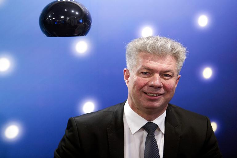 Energiselskabet Ewii har med omgående virkning skilt sig af med sin adm. direktør Knud Steen Larsen, efter habilitets- og sponsorsager. Foto: Carsten Andreasen, Polfoto.
