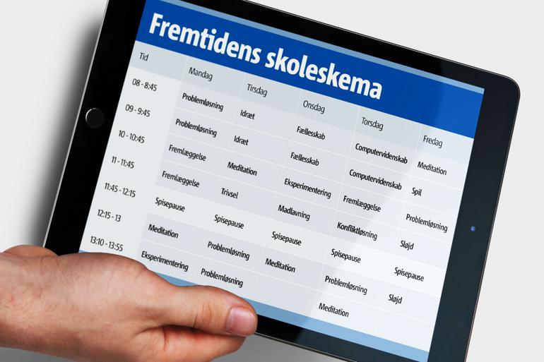 Fremtidens skoleskema: Ud med dansk og matematik - ind med problemløsning