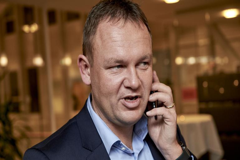 Jesper Frost Rasmussen (V) er ny borgmester i Esbjerg.
