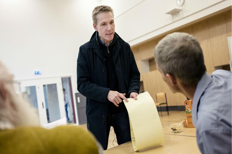 Dansk Folkepartis formand Kristian Thulesen Dahl er - formentlig - én af de 8,8 procent danskere, der satte sit kryds ved Dansk Folkeparti.