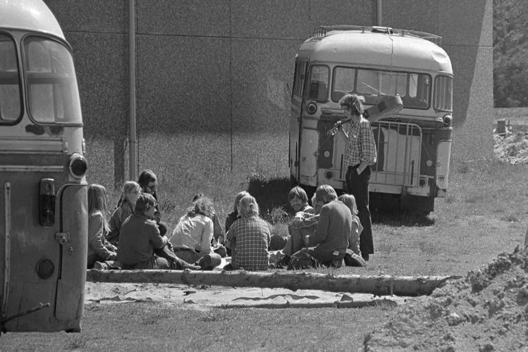 Kritik: Frivillige udlændinge udfører pædagogisk arbejde hos Tvind
