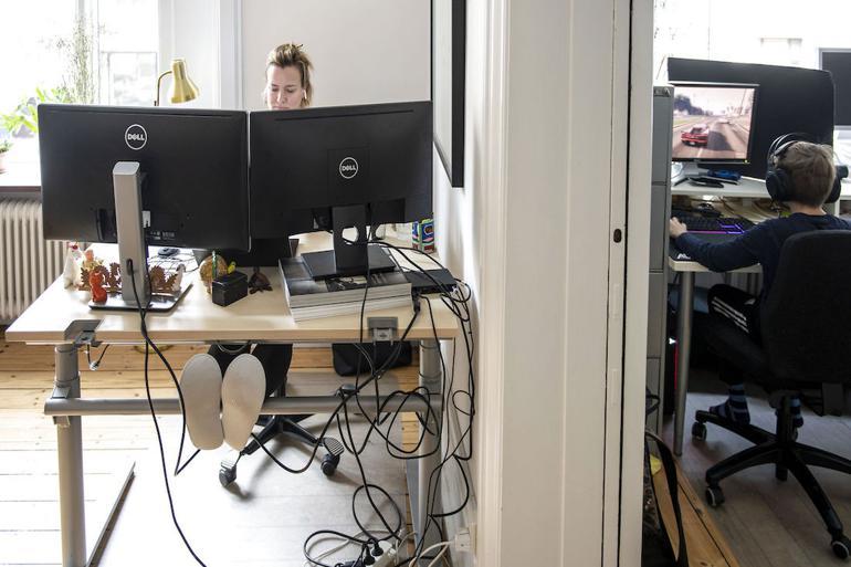 Arbejdsskader gælder også på hjemmearbejdspladsen