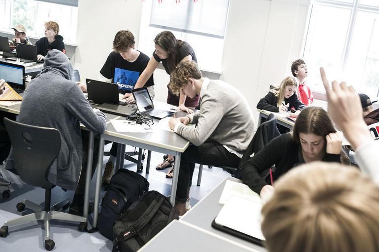 Skolechefer vrider hjernen for de store elever