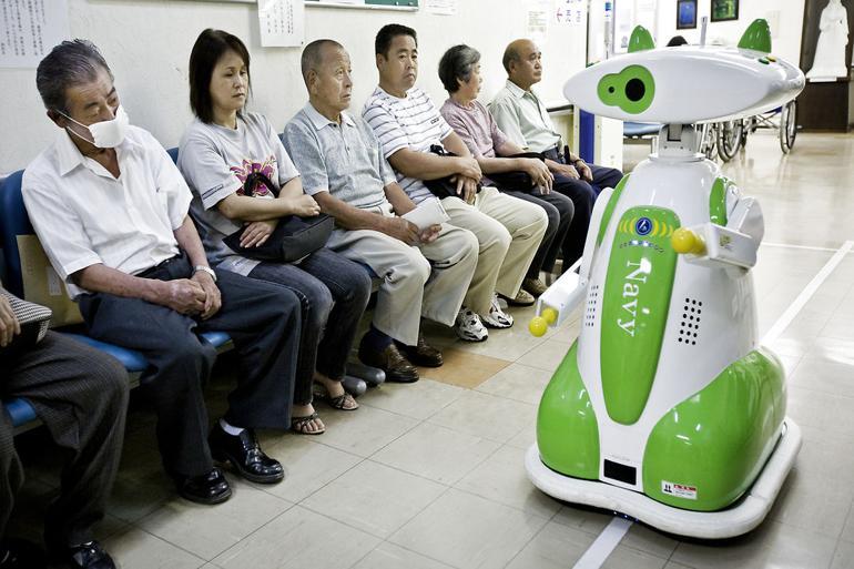 Robotter kan passe coronapatienter
