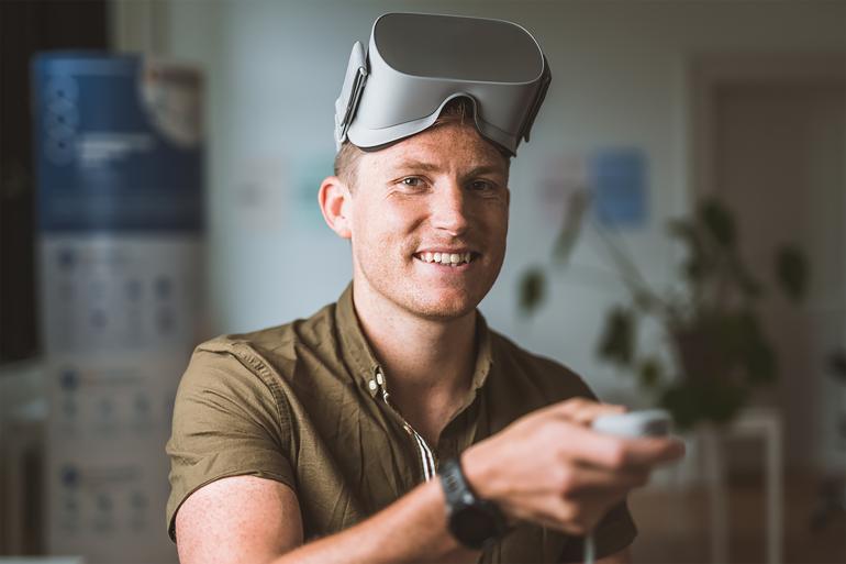 Virtuelle omgivelser gør træningen sjovere