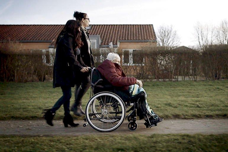 Dokumentaren med demensramte Else blev vist på TV2 i går.