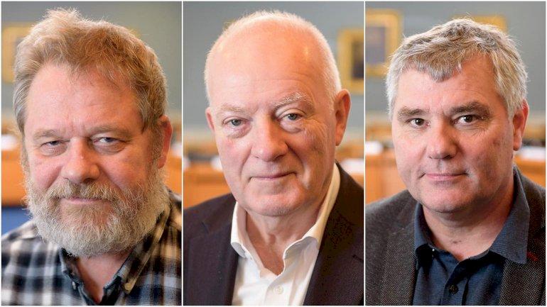 De tre byrådsmedlemmer Bjarne Overmark, Henning Jensen Nyhuus og Mogens Nyholm, undersøges af politiet, blandt andet for brud på tavshedspligten.