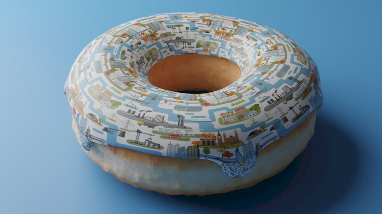 Kate Raworth præsenterede idéerne bag Doughnut Economics for første gang i 2012, og siden har hun blandt andet præsenteret modellens potentiale i København til C40-topmødet sidste år.