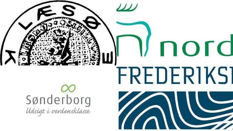 Fire kommuner har helt fravalgt at få lavet et kommunevåben. For Norddjurs, Frederikshavn og Sønderborg kom beslutningen i forbindelse med kommunesammenlægningerne i 2007, mens Læsø har aldrig har haft et kommunevåben, våbenskjold eller byvåben, som det også kaldes.