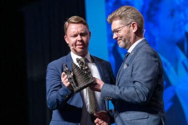 Jacob Bjerregaard (S) og Frank Jensen (S) i januar 2020, da de begge stadig var borgmestre - i dag er de begge ude af politik