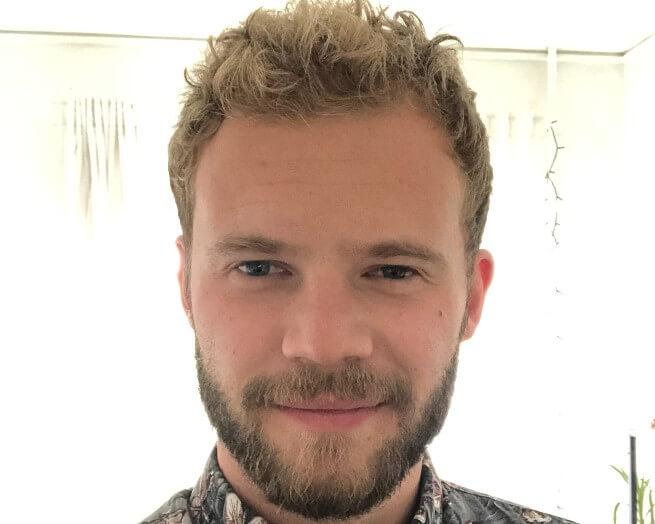 """Andreas Bøgh Rønberg hører til vælgersegmentet """"Den gode kammerat - men han stemmer ikke kun på sin ven og roommate af sociale hensyn, understreger han."""