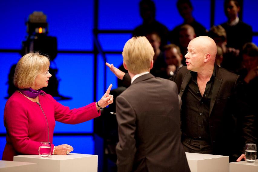 Den politiske debat skal ikke være en boksekamp